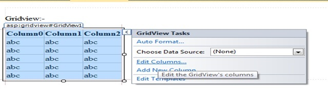 gridview in asp net | grid view in asp net